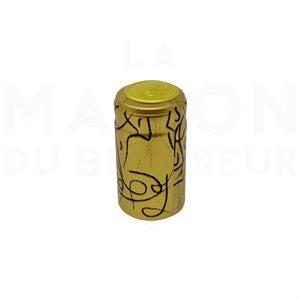 Cache Bouchon Gold (30 Unités)