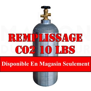 Remplissage Co2 10 Lbs